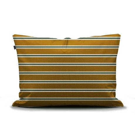 ESSENZA Pillowcase Meg ocher yellow multicolour textile 60x70cm