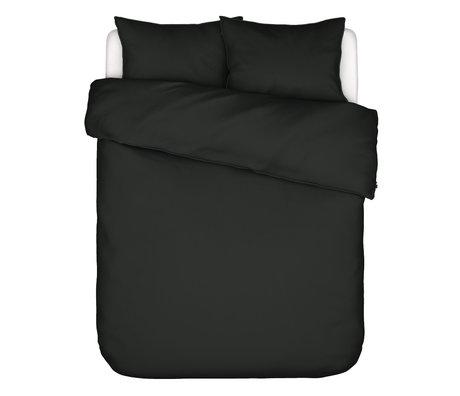 ESSENZA Housse de couette Minte gris anthracite textile 260x220cm - avec 2x taies d'oreiller 60x70cm