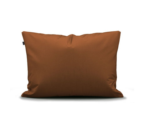 ESSENZA Pillowcase Minte Leather brown textile 60x70cm