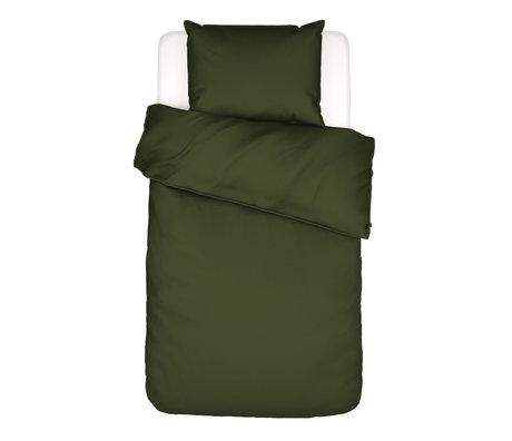 ESSENZA Bettbezug Minte Moosgrün Textil 140x220cm - inkl. Kissenbezug 60x70cm
