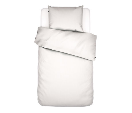 ESSENZA Duvet cover Minte white textile 140x220cm - incl. Pillowcase 60x70cm