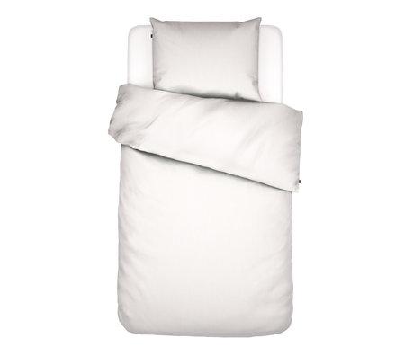 ESSENZA Enveloppe de couette Minte textile blanc 140x220cm - Taie d'oreiller incluse 60x70cm