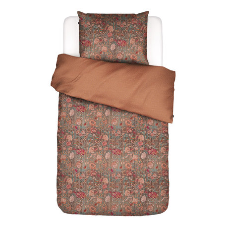 ESSENZA Bettbezug Odite Terracotta Multicolor Textil 140x220cm - inkl. Kissenbezug 60x70cm