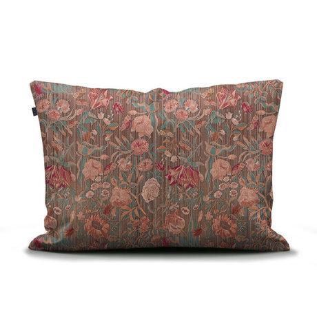 ESSENZA Kussensloop Odite terracotta multicolour textiel 60x70cm
