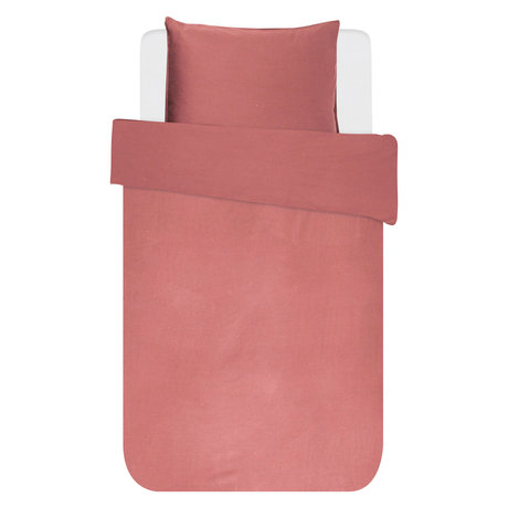 ESSENZA Bettbezug Minte Dusty Pink Textil 140x220cm - inkl. Kissenbezug 60x70cm