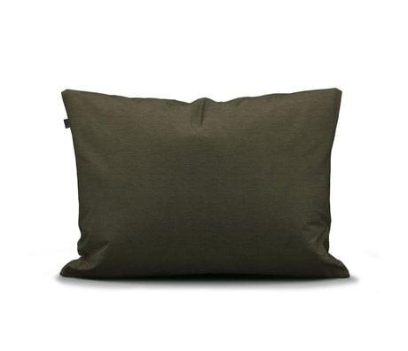 ESSENZA Pillowcase Otis olive green cotton 60x70cm