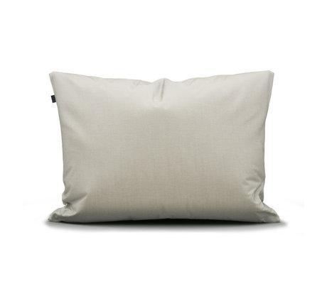 ESSENZA Taie d'oreiller Otis écru coton blanc 60x70cm