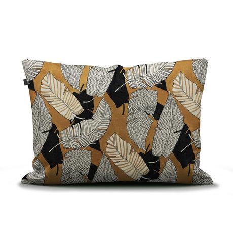 ESSENZA Taie d'oreiller Serena ocre jaune multicolore textile 60x70cm