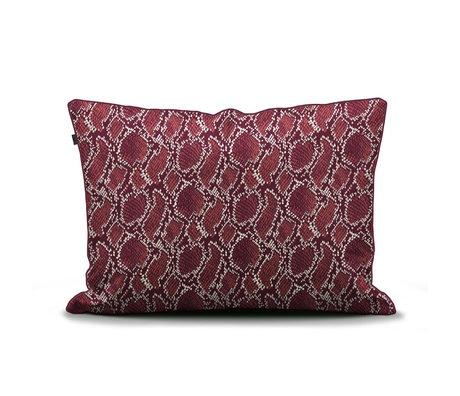 ESSENZA Kussensloop Solan burgundy rood textiel 60x70cm