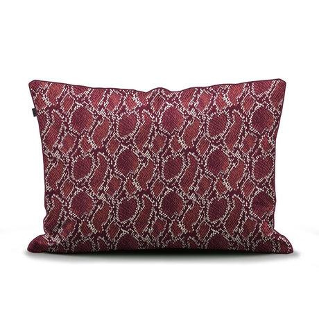 ESSENZA Kissenbezug Solan burgunderrot Textil 60x70cm