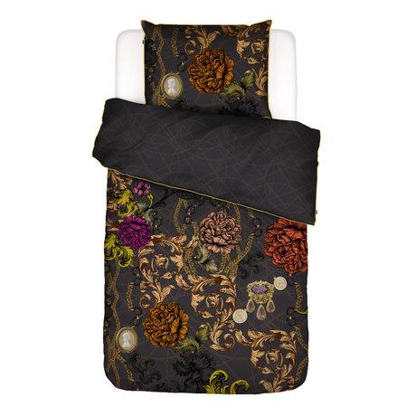 ESSENZA Housse de couette Valente gris anthracite multicolore textile 140x220cm - Taie d'oreiller incluse 60x70cm