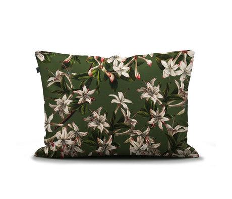 ESSENZA Verano green pillowcase multicolored textile 60x70cm