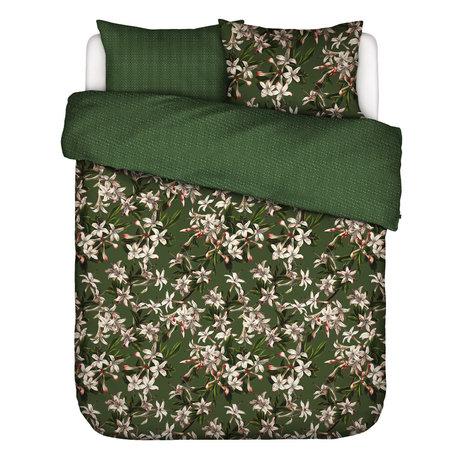 ESSENZA Dekbedovertrek Verano groen multicolour textiel 200x220cm - incl. 2x kussensloop 60x70cm