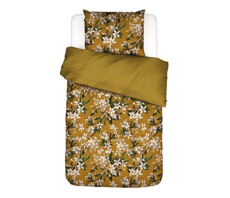 ESSENZA Housse de couette Verano ocre jaune multicolore textile 140x220cm - Taie d'oreiller incluse 60x70cm