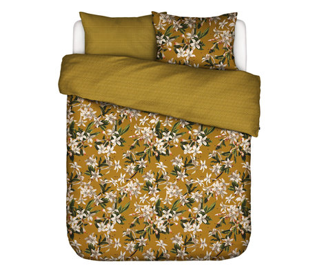 ESSENZA Duvet cover Verano ocher yellow multicolour textile 200x220cm - incl. 2x pillowcase 60x70cm