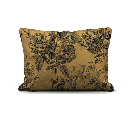 ESSENZA Pillowcase Vivienne yellow textile 60x70cm