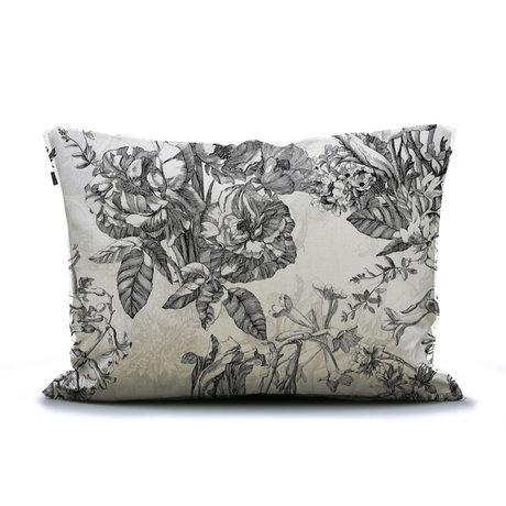 ESSENZA Cushion cover Vivienne ecru white textile 60x70cm
