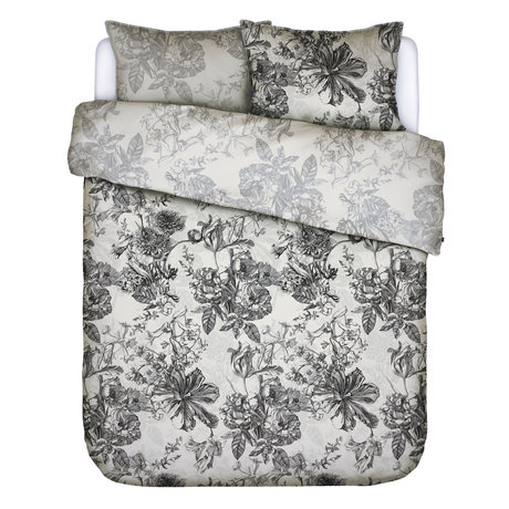 ESSENZA Bettbezug Vivienne ecru weiß Textil 200x220cm - inkl. 2x Kissenbezug 60x70cm