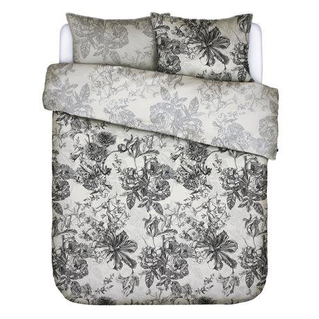 ESSENZA Housse de couette Vivienne écru textile blanc 200x220cm - avec 2x taie d'oreiller 60x70cm