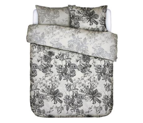 ESSENZA Dekbedovertrek Vivienne ecru wit textiel 240x220cm - incl. 2x kussensloop 60x70cm