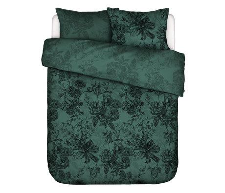 ESSENZA Dekbedovertrek Vivienne groen textiel 200x220cm - incl. 2x kussensloop 60x70cm