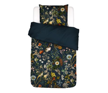 ESSENZA Dekbedovertrek Xess donkerblauw multicolour textiel 140x220cm - incl. kussensloop 60x70cm