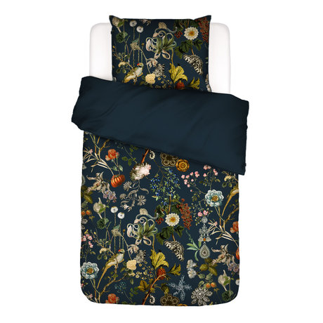 ESSENZA Bettbezug Xess, dunkelblau, buntes Textil 140x220cm - inkl. Kissenbezug 60x70cm