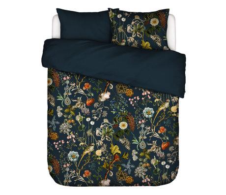 ESSENZA Housse de couette Xess en textile multicolore bleu foncé 200x220cm - avec 2x taie d'oreiller 60x70cm