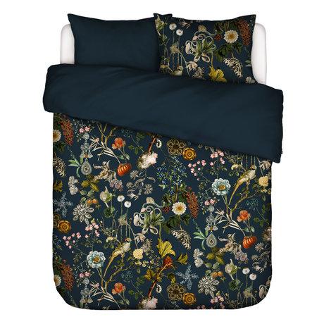 ESSENZA Housse de couette Xess en tissu multicolore bleu foncé 260x220cm - avec 2x taies d'oreiller 60x70cm