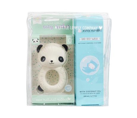 A Little Lovely Company Baby Geschenkset Jungen 17x19x7,5 cm
