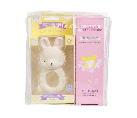 A Little Lovely Company Baby Geschenkset Mädchen 17x19x7,5 cm