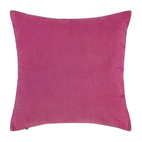 ESSENZA Sierkussen Riv fuchsia roze corduroy katoen 45x45cm