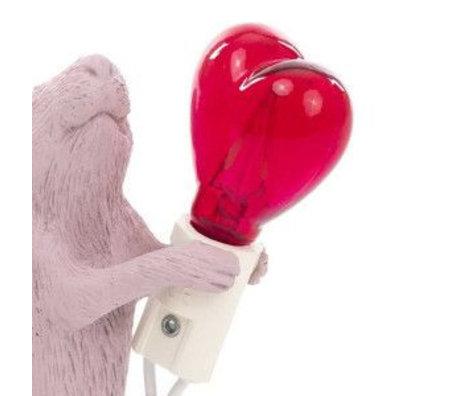 Seletti Birnenreserve führte Herz für Lampenmaus Herz