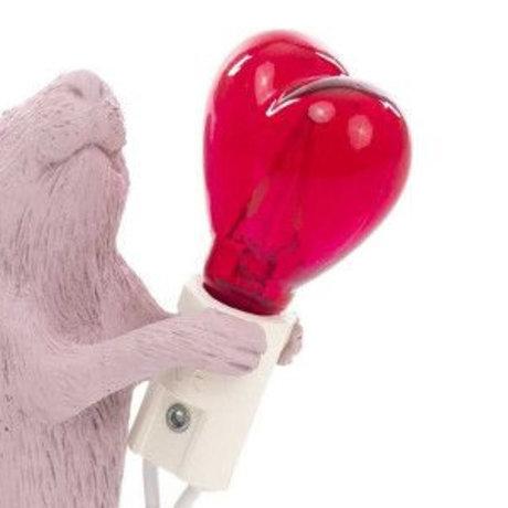 Seletti ampoule led led coeur pour lampe souris coeur