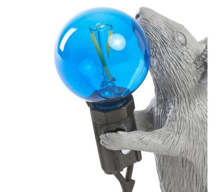 Seletti ampoule led de réserve bleu pour lampe souris coeur