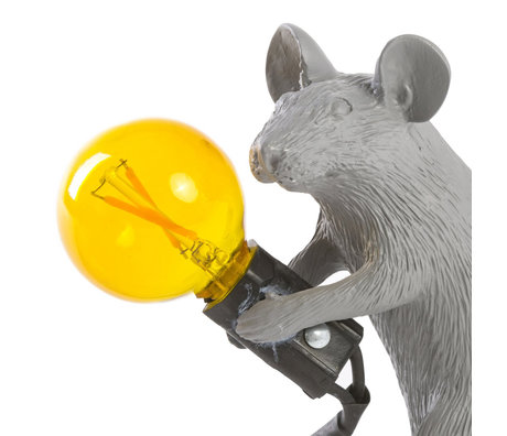 Seletti bulb spare led yellow for lamp mouse