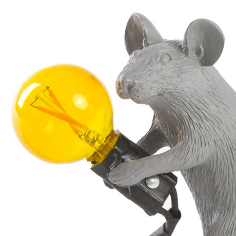 Seletti bulb reserve led geel voor lamp mouse