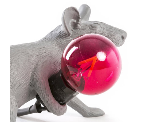 Seletti ampoule de rechange led rouge pour lampe souris