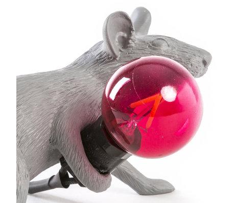 Seletti Ersatzlampe LED rot für Lampenmaus
