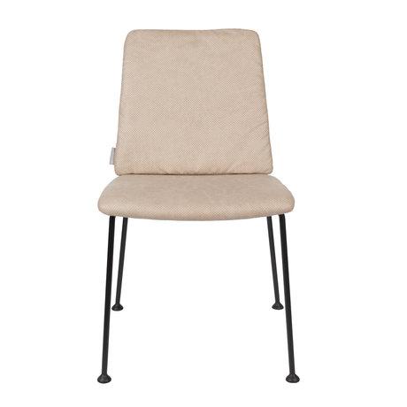 Zuiver Esszimmerstuhl Fab beige Polyester 48x56x79cm