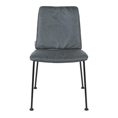 Zuiver Esszimmerstuhl Fab grau blau Polyester 48x56x79cm