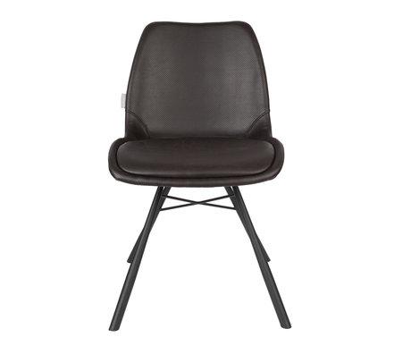 Zuiver Esszimmerstuhl Brent Air schwarz Polyester 48x56.5x79.5cm