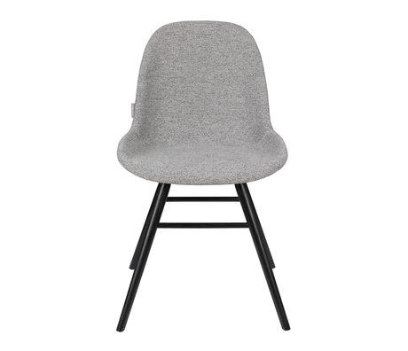Zuiver Dining room chair Albert Kuip Soft light gray textile 49x55x81.5cm