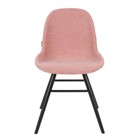 Zuiver Esszimmerstuhl Albert Kuip Zart rosa Textil 49x55x81.5cm