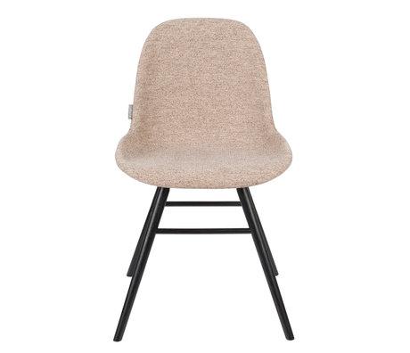 Zuiver Chaise de salle à manger Albert Kuip Soft textile beige 49x55x81.5cm