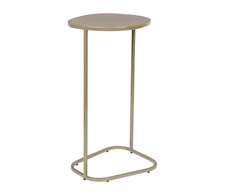 Zuiver Table d'appoint Moondrop Single clay metal 25.5x21.5x51cm