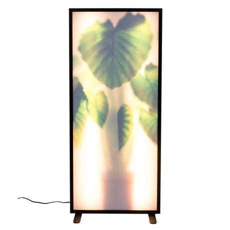 Zuiver Stehleuchte Grow XXL Elefantenohr Pflanze 54x8x112cm