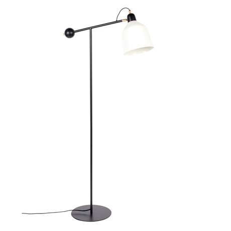 Zuiver Floor lamp Skala black white metal 30x63x155cm