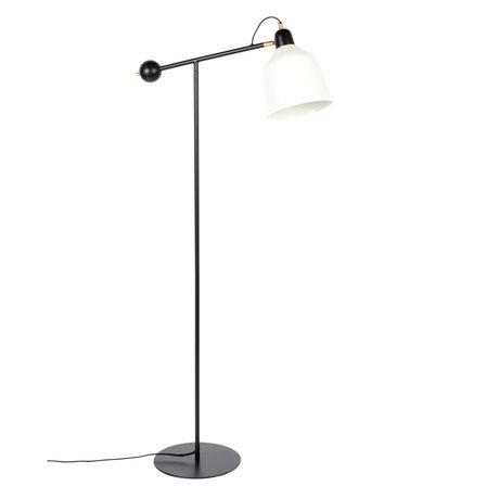 Zuiver Vloerlamp Skala zwart wit metaal 30x63x155cm
