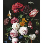 KEK Amsterdam Tapetenpaneel XL Golden Age Blumen Multicolor Vliestapete 190x220cm